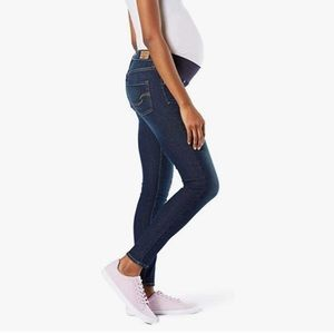HP {Levi Strauss} EUC Baby Bump Skinny Jeans XL Gold Label Maternity Signature